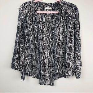newbury Kustom Tops - Newbury kustom small blouse shirt